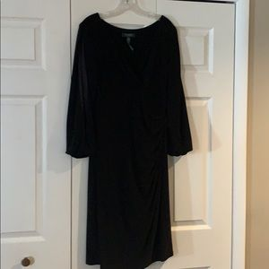 Lauren Ralph Lauren Black long-sleeve dress